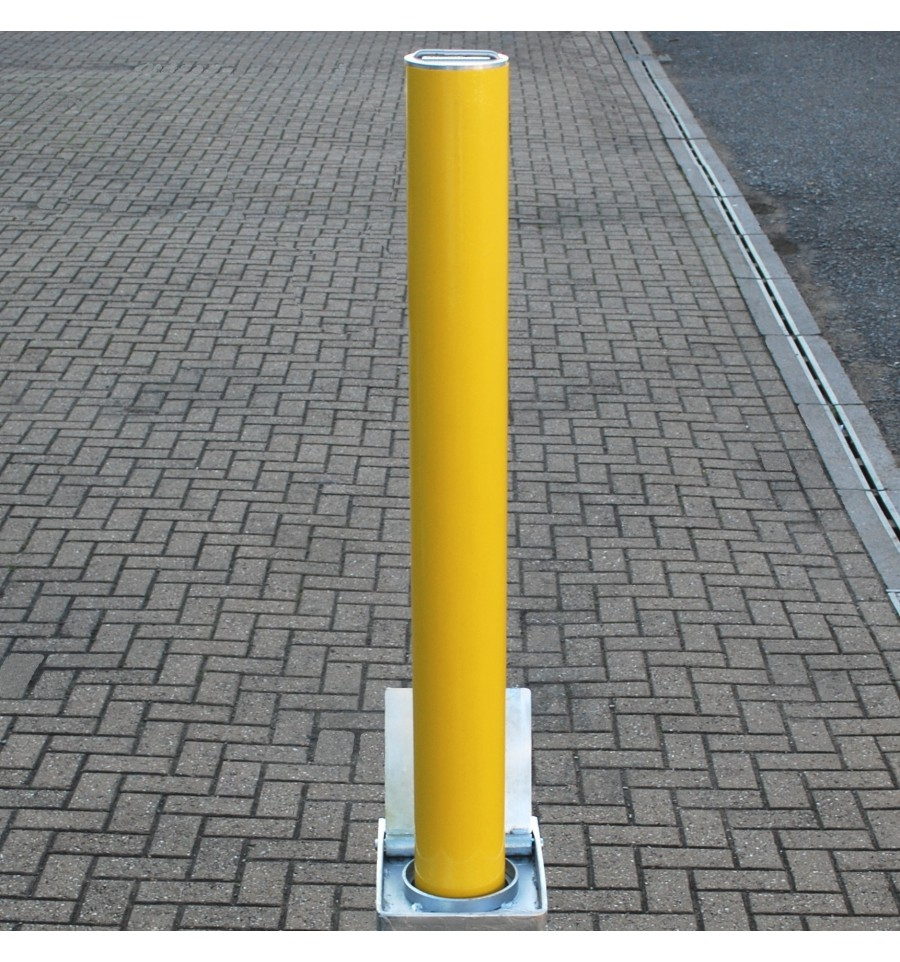 Telescopic Security Amp Parking Post Tp 800 Yellow
