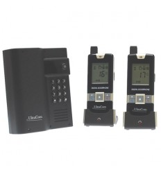 600 metre Wireless UltraCom Intercom with Keypad & 2 x Handsets