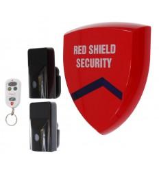 External Battery Wireless Smart Siren Alarm & 2 x PIR's