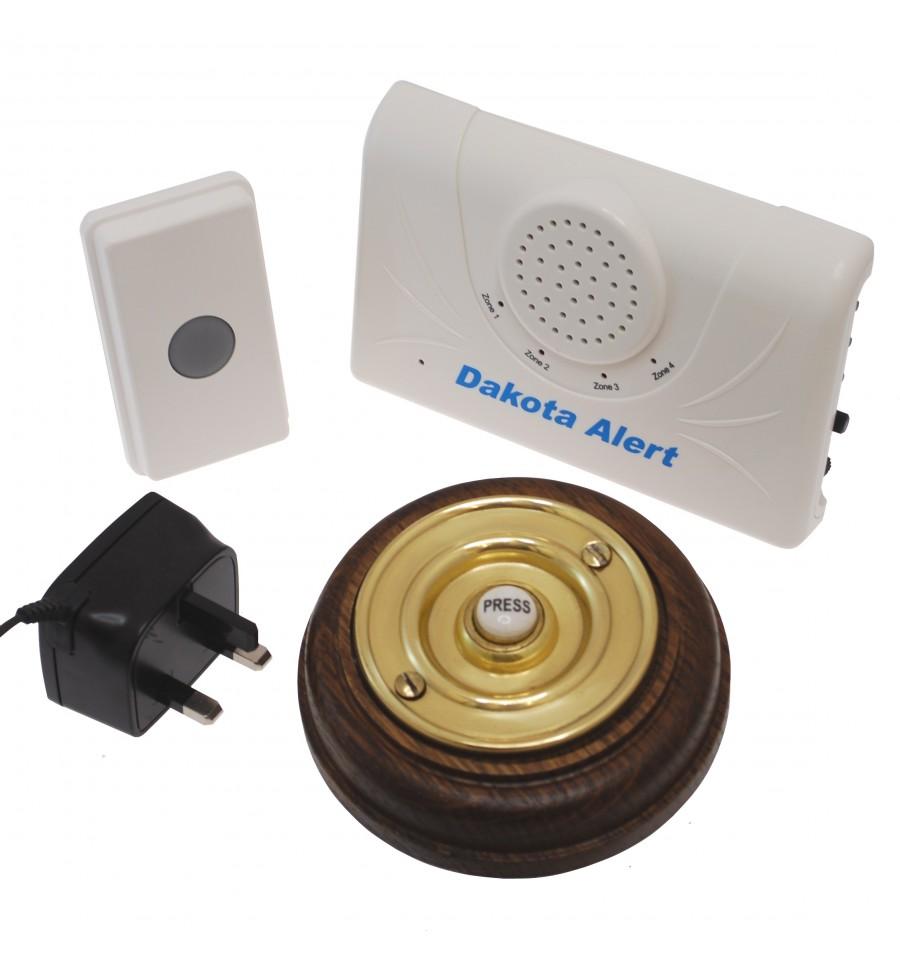 Long Range Wireless Doorbell Finesse Push Button 800 Metre
