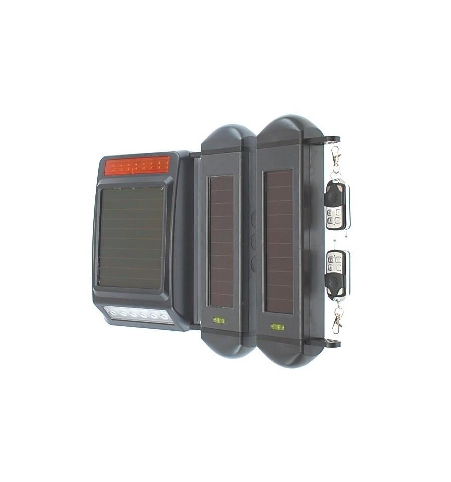 Long Range Wireless Perimeter Alarm With Solar Beams Amp Siren
