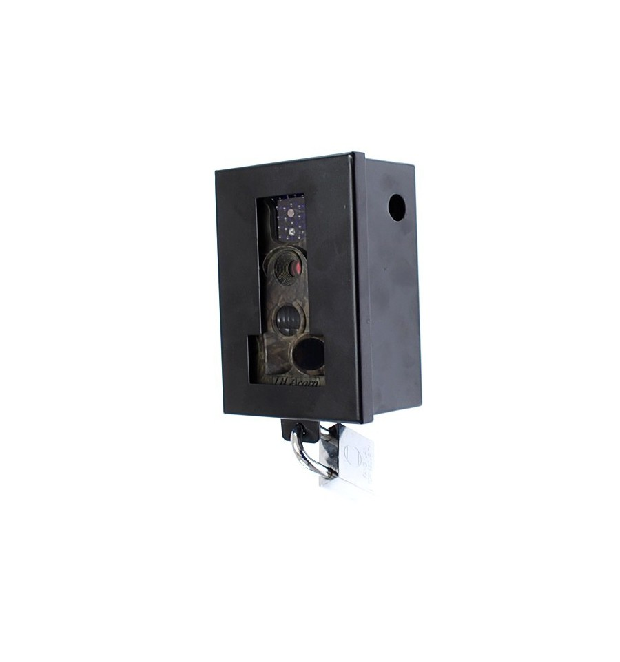 Battery Cctv Camera With Protective Steel Cage Solar Charger