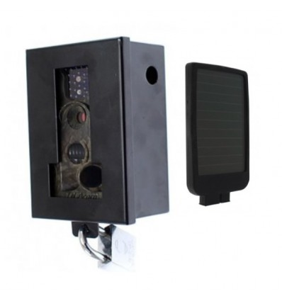 Battery Amp Solar Charged Cctv Camera C60 Protective Steel