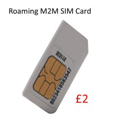 Roaming M2M Sim Card (£2 of Credit)