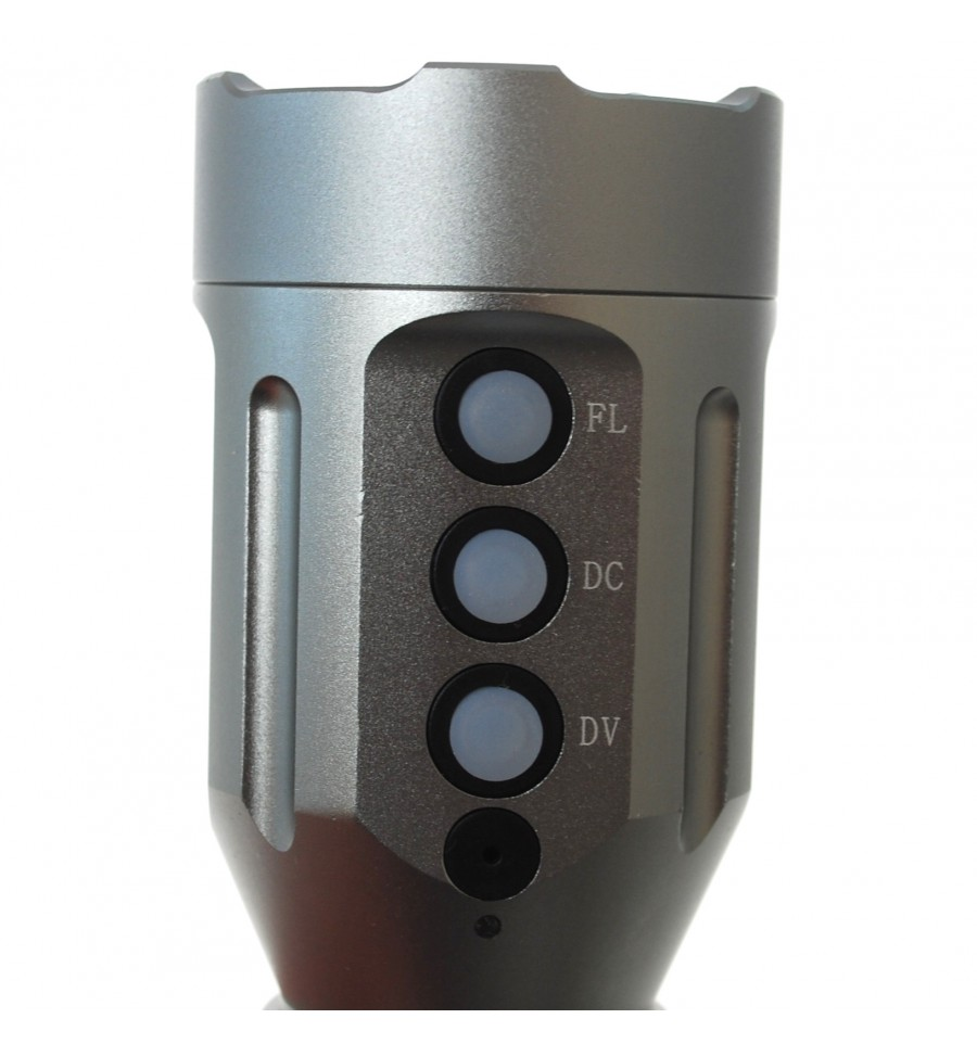 Video Led Torch Re Chargeable Batteries Laser Beam Torch