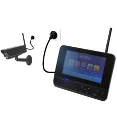 Home Wireless Cctv Kits With Mobile Phone Viewing