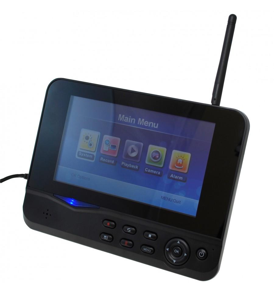300 Metre Wireless Cctv System 4 X External Cameras