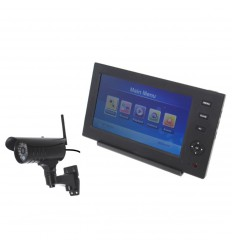 Wireless Network CCTV with 1 x 20 metre Night Vision External Camera
