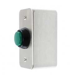 Heavy Duty External Push Button (Green)