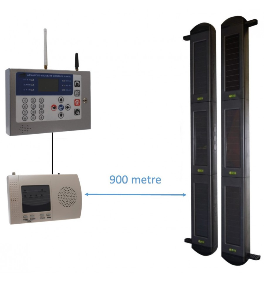 Long Range 3b Wireless Gsm Perimeter Alarm Kp H D Auto