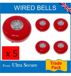 for External or Internal Commercial Applications wired 12v Bell
