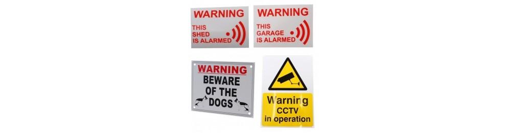 Shed Amp Garage Alarm Amp Cctv Warning Signs Amp Stickers